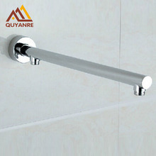 Free Shipping Wall Mount Brass Shower Arm Bathroom Concealed Install Shower Holder Shower Head Bar