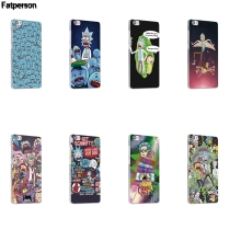 Rick and Morty cartoon design phone case For Xiaomi mi4c mi5c mi6 mi4s mi5s Plus mi3 mi4 mi5 Note Funda cover transparent shell