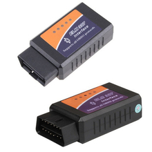 5 Pieces Wholesale Price BT ELM327 Bluetooth OBDII V1.5 CAN Diagnostic Interface Scanner Bluetooth ELM 327 OBD2 Car Scan Tool(China)