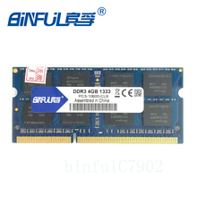 Binful DDR3 4GB Ram 1333mhz PC3-10600 desktop Memory Used for INTEL& AMD Motherboard computer