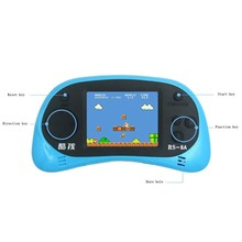 HD Screen 2.5 inch Display Handheld Game Player Video Console Built-in 260 Style Classic Games with AV Cable Support TV Output(China)