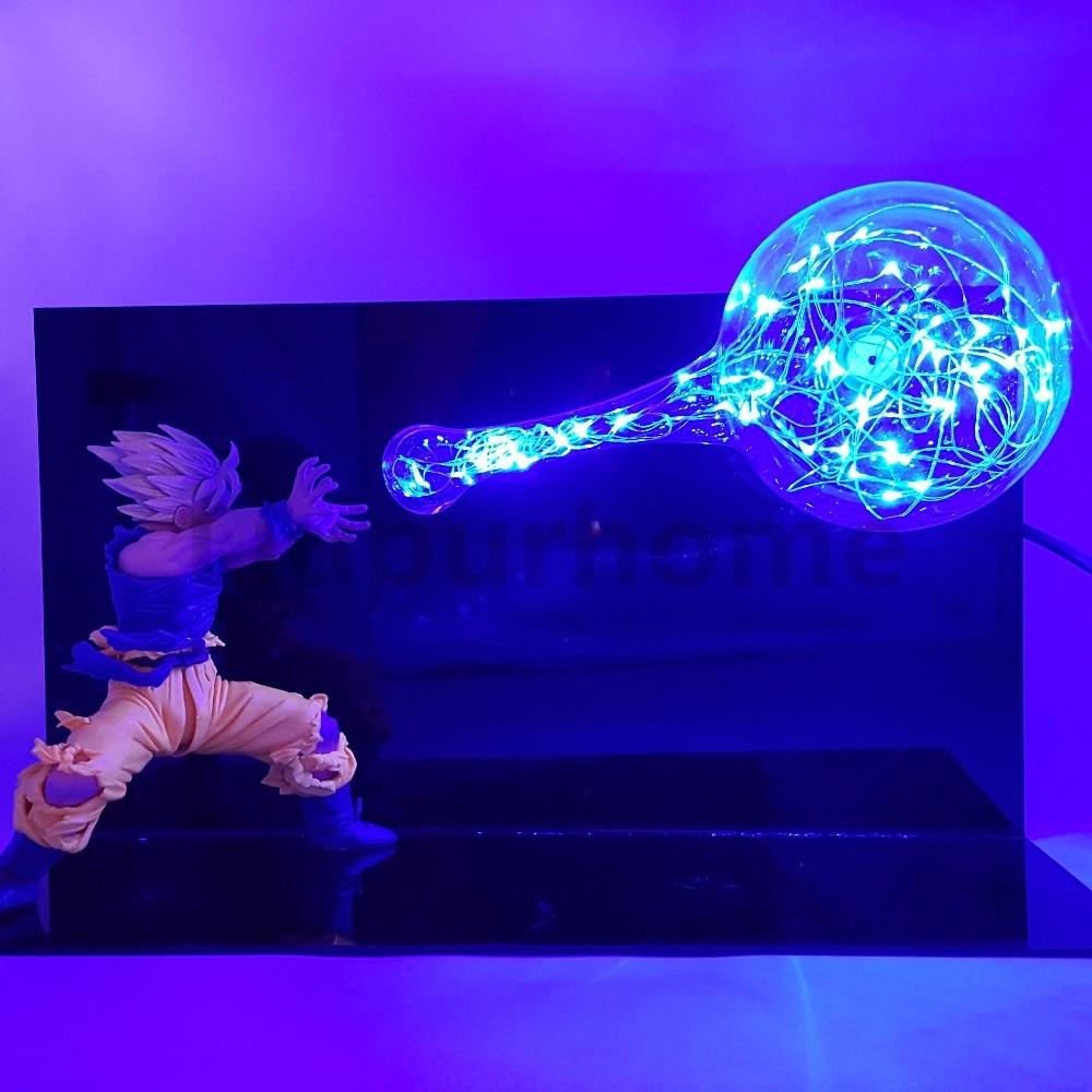Led Night Lights Dragon Ball Z Vegeta Set Led Night Lights Super Saiyan Diy Anime Dragon Ball Super Dbz Led Table Lamp Llampara Led