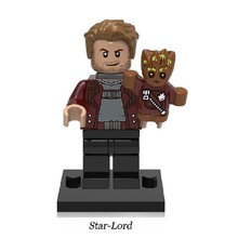 Building Blocks XH610 Star-Lord Guardians of the Galaxy Star-Lord Marvel Super Hero Bricks Kids DIY Toys Hobbies