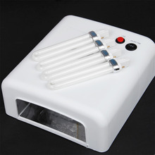 36W UV Gel Nail Dryer UV Lamp 220V EU Plug Manicure Nail Lamp Machine Pedicure Poishes Curing Light Nail Art Dryer Tools