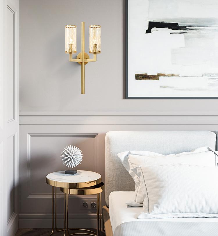 e (3)post modern wall light