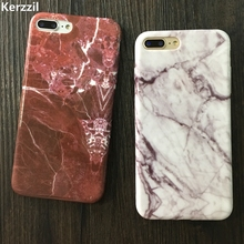 Kerzzil Soft TPU Case for iPhone 5s 5 SE 6 6s 6plus New Granite Scrub Marble Stone image Painted Phone Case For iphone 7 7plus