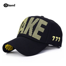 new listing adjustable Letter M hats baseball cap golf hip hop for men women embroidery free shipping On Sale chapeau(China)
