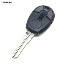 25pcs/lot Replacement Remote Control Keys For Fiat Car 2 Button Bey Cover Case Entry System 2 Button fob