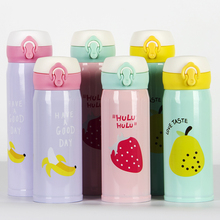 350/500ML Stainless Steel Travel Mug Insulated Thermos Cup Creative Cute Fruit Style China High Quality Coffee Mugs For Gift Cup