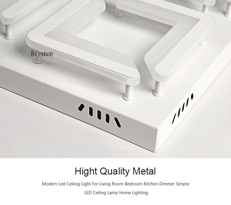 Modern Led Ceiling Light For Living Room Bedroom Kitchen Dimmer Simple LED Ceiling Lamp Home Lighting (15)