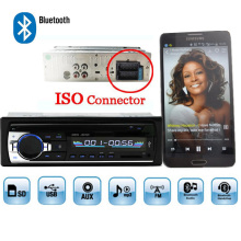 Autoradio Car Radio 12V Bluetooth V2.0 JSD520 Car Stereo In-dash 1 Din FM Aux Input Receiver SD USB MP3 MMC WMA ISO Connector