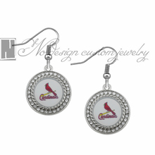 Arizona Cardinals super bowl champion Enamel Earrings Rugby  Team Fans Dangle Earrings NE0736