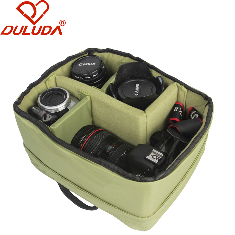 DULUDA New Fashion Storager Digital SLR Camera Lens Waterproof  Bag Multi-function Professional  Liner Package<br><br>Aliexpress