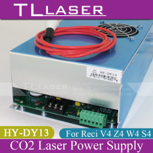 HY - DY13 100W CO2 Laser Power Supply For Reci V4 Z4 W4 S4 Tube 110V / 220V For Laser Engraving Cutting Machine Year Warranty