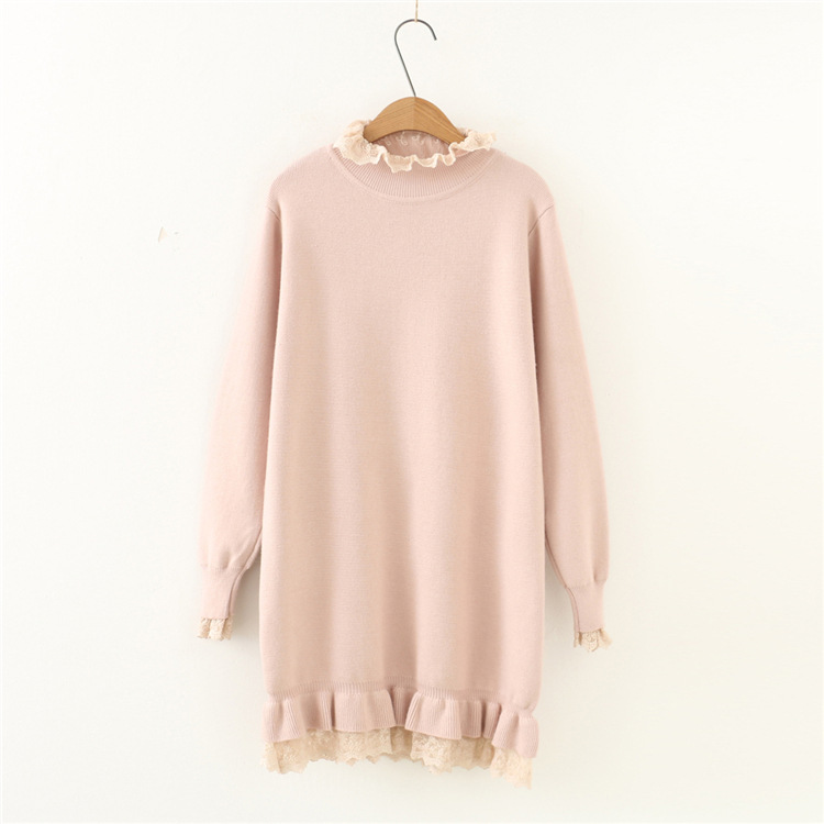 2017 autumn winter knit sweater dress long sleeve woman casual knitted dress retro vintage women elegant office dressesÎäåæäà è àêñåññóàðû<br><br>