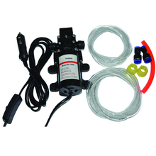 (Russia Warehouse) 60W car pumping hydraulic pump change the oil  pump car wash pump