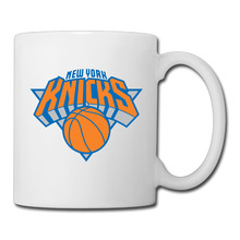 New York Knicks Basketball Logo coffee mug japanese teacher tazas ceramic tumbler caneca tea Cups