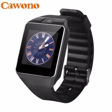 Cawono DZ09 Smart Watch Bluetooth Smartwatch Relogio TF SIM Card Camera for iPhone Samsung HTC LG HUAWEI Android Phone VS Q18 Y1(China)