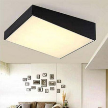 Modern Ceiling light LED lamp iron baked paint trapezoidal body Acrylic faceplate panel living Bedroom shop indoor light fixture(China)