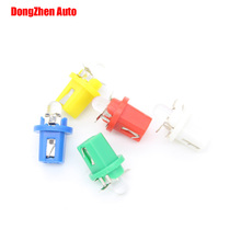 Dongzhen 24V 50pcs Auto 1 LED T5 B8.5 B8.5D 509T W3W Interior Dome Light Dashboard Light Interior Packing Light Map Car Xenon