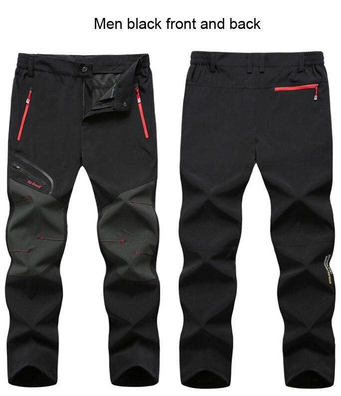 men black front and back