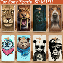 HOT! Cases For SONY Xperia SP Case Cover Colorful Fashion Painted Case FOR SONY Xperia SP M35h Case Cover In Stock