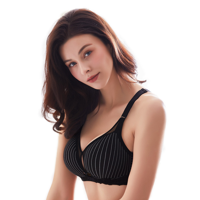 Breastfeeding-Bra Pregnancy-Postpartum Underwear Front-Buckle Cotton for Thin title=