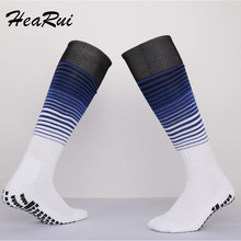 Top Men Anti-Slip Football Socks TockSox Overknee Football Socks Soccer Long Stockings TruSox Futbol Meias Calcetines