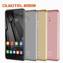 Original OUKITEL U7 Plus 4G Smartphone Android 6.0 MTK6737 Quad Core Cell Phone 2GB+16GB 13.0MP Fingerprint 5.5inch Mobile Phone