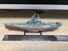 Warships of WWII 1:1000 Uss South Dakota 1945 US warships Diecast model