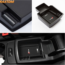 Car Organizer for Audi Q5 2009-2017 Central Armrest Storage Box Container Holder Tray Accessories Car Styling