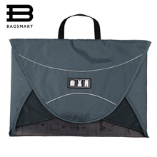 BAGSMART 17'' Men's Travel Bags With Handle For 1-5pcs Shirts Luggage Packing Cube Organize Your Suitcase Case(China)