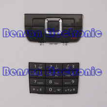 BaanSam New For Nokia E66 High Quality Keyboard Buttons Phone Housing Case