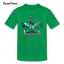 Children T Shirt The Who 100% Cotton British Rock Music Crew Neck Tshirt Tops Boys Girls 2017 Best Selling T-shirt For Kids(China)