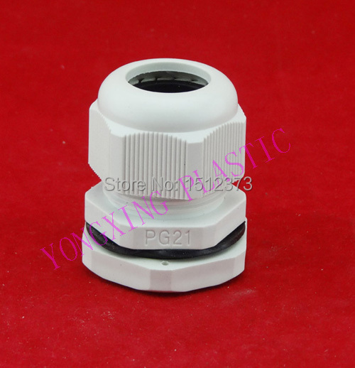 100 piece/lot PG16 plastic cable gladns nylon66 material PG type<br>