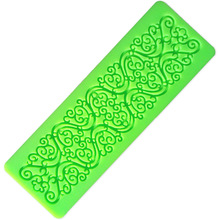 1 PCS Silicone Cake Fondant Mould Flower Lace Mold Sugar Craft Wedding Decorating Tool D700(China)