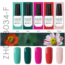 Belle Fille 8ml Red Gel Polish Ruby Scarlet Prune Garnet Laterite Reddle Magenta Lacquer Nail Polish Gelpolish Soak Off Gel Glue