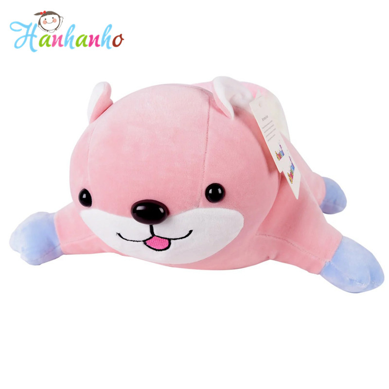 Own Design Top Quality Pink Squirrel Plush Toy Extremely Soft Cute Cartoon Stuffed Animal Doll Gift For Girl 50cm<br>