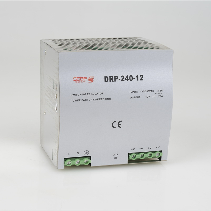 DR-240-12 240W 12V  10A Din rail Single Output Switching power supplyac dc converter SMPS<br><br>Aliexpress
