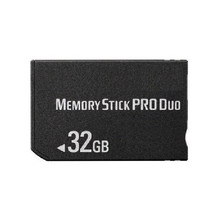 32GB MS Memory Stick Pro Duo Card Storage for Sony PSP 1000/2000/3000 Game Console