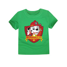 TINOLULING 2017 Kids Dogs Patrol Cartoon T-Shirt Girls Boys T Shirt Tops Tee Children Clothing Baby Dogs  T-Shirt