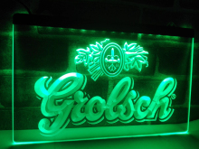 LA007- Grolsch Beer Bar Pub Club NEW   LED Neon Light Sign     home decor  crafts