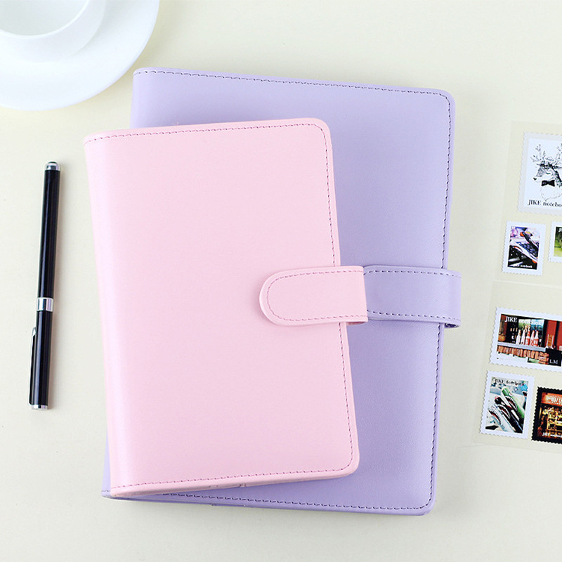 Passion leather spiral notebook Original office personal diary/week planner/agenda organizer Cute ring stationery binder A5 A6<br><br>Aliexpress