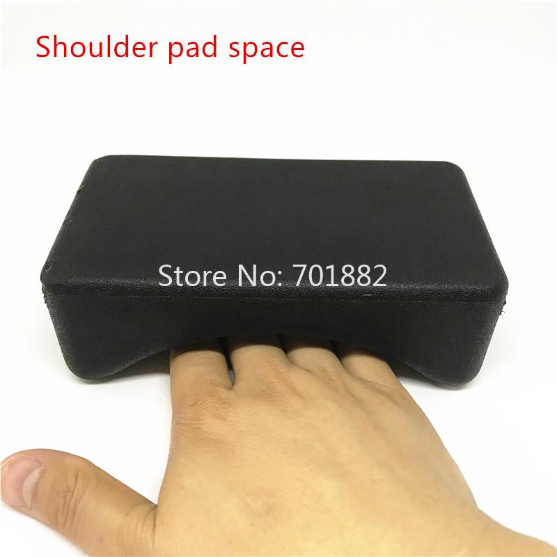 Jadkinsta Soft Sponge Camera Shoulder Pads for DSLR SLR Rod Rig Shoulder Pad Holes Distance 60mm Photography Accessories (5)