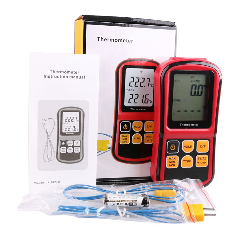 Digital Thermocouple Thermometer -50~300 Degree Industrial Temperature Meter J K T E N R S Type Thermocouple Temperature Tester<br><br>Aliexpress