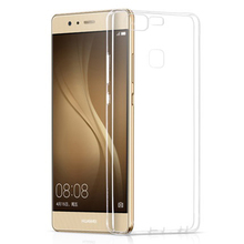 Super Flexible Clear TPU Case For huawei P8 P8 lite P9 Lite Case Slim Crystal Back Protect Skin Rubber Cover Silicone