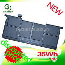 Golooloo For Apple 35Wh Laptop Battery MacBook Air A1406 A1370 2011 Production A1465 MC965(China)