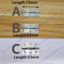 Length 53mm/63mm/73mm furniture hinge stainless steel hinge(China)