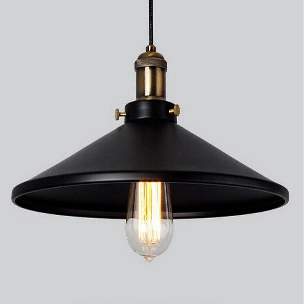 Loft  Industrial Warehouse Pendant Lights American Country Lamps Vintage Lighting for Restaurant/Bedroom Home Decoration Black<br><br>Aliexpress