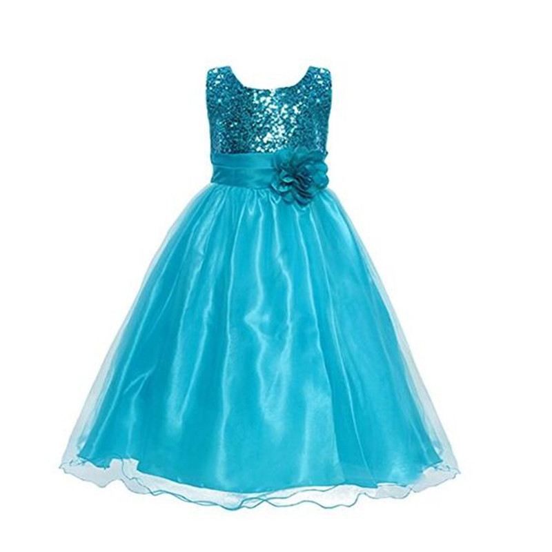 8 Colors Sequines Halloween Christmas Party Dress Princess Flower Ballet School Girl Prom Dresses Children Costumes for Girls<br><br>Aliexpress